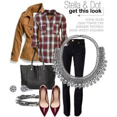 """Stella & Dot fall fashion"" by wlsdrew on Polyvore"
