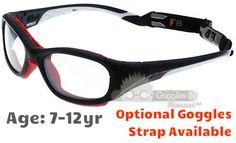 2e0389865f Rec Specs F8 Slam Patriot Prescription Sports Glasses in Matte Navy White