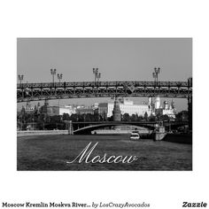 Moscow Kremlin Moskva River City Architecture Postcard Moscow Kremlin, City Architecture, Paris Skyline, To Go, River, Cards, Rivers, Map