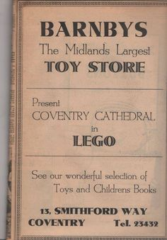 Coventry Cathedral, Coventry City, Photographs And Memories, English Style, Old Toys, Toy Store, Wales, Childrens Books, Childhood
