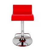 Ventura Swank Red Bar Chair