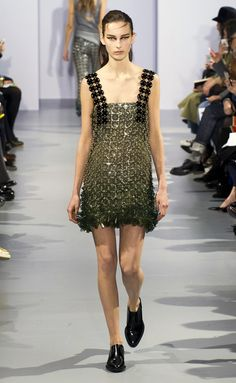 Paco Rabanne - #PFW Fall/Winter 2015/2016 www.so-sophisticated.com