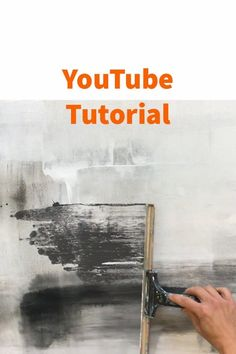 YouTube Tutorial for beginners abstract painting Abstract Painting Techniques, Abstract Canvas Art, Diy Canvas Art, Hallway Art, Abstract Pictures, Modern Art Paintings, Contemporary Abstract Art, Art Mural, Art Tutorials