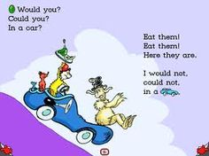 That Dr Suess......