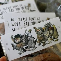 Where the wild things are bag toppers pdf by Rumpuspartyshop
