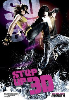 Step Up 3 Valami rettenet volt. Buta történet, tele termékelhelyezésekkel. Egyedül az a rész tetszett benne amikor Moose a lánnyal táncolt az utcán.
