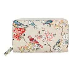 Blossom Birds Double Zip Purse | Purses & Wallets | CathKidston