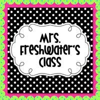 Mrs. Freshwater's Class