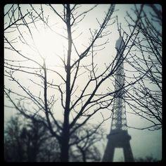 I love Paris in the winter