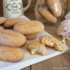 If you were to make a single batch of these cookies, it would never be enough. Cookie Desserts, Cupcake Cookies, Vegan Desserts, Cookie Recipes, Biscotti Cookies, Cookie Press, Italian Cookies, Whoopie Pies, Vegan Cake