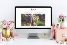 Hipsta - Elegant & Simple Blog Theme by AuraThemes on @creativemarket