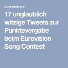 17 unglaublich witzige Tweets zur Punktevergabe beim Eurovision Song Contest