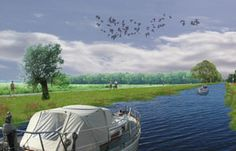A foundation takes the initiative to restore a tributary of the river Vecht through the village. Vollmer & Partners has made a vision in close collaboration with inhabitants, entrepeneurs and civil engineers.