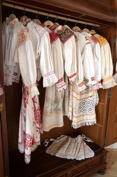 Slovak Folk Embroidery - 4 page views remaining today Polish Embroidery, Folk Embroidery, Irish Fashion, Folk Fashion, Traditional Fashion, Traditional Dresses, Folk Costume, My Heritage, Textiles