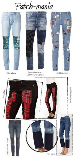 Inspiración DIY para customizar tus pantalones vaqueros
