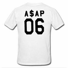 ASAP 06 tshirt BACK