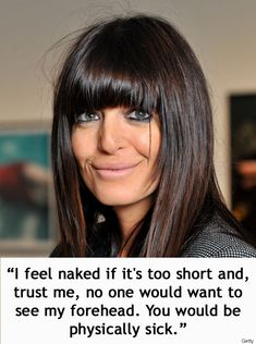 18 Times Strictly Come Dancings Claudia Winkleman Was Just The Absolute Best Short Sassy Haircuts, Long Bob Hairstyles, Pretty Hairstyles, Claudia Winkleman Hair, Medium Hair Styles, Short Hair Styles, How To Cut Your Own Hair, Bob Haircut With Bangs, New Hair Colors