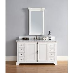 Shop for Providence Cottage White 60-inch Single Vanity Cabinet. Get free delivery at Overstock.com - Your Online Furniture Outlet Store! Get 5% in rewards with Club O!