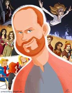 Joss Whedon and his most famous works.