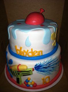 Water wars, Water Balloon Cake!  *Sweet Fantasy Cake Co.*