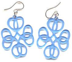 Love Knot Earrings : Earrings : Handmade Jewelry by Peggy Li Creations
