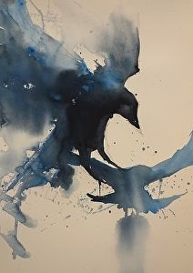Daily Art Show (01/17/2014) - Crows by Sarah Yeoman | FASO