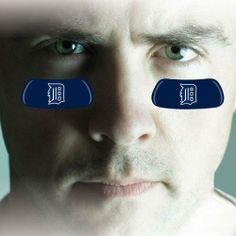 """MLB Detroit Tigers 2-Pair Navy Blue Team-Colored Eye Black Strips by Football Fanatics. $3.95. Four stickers per package. Helps reduce the glare of the sun. Approximately 1 3/4"""" x 3/4"""". Team logo and colors. Easy to apply and remove. Detroit Tigers 2-Pair Navy Blue Team-Colored Eye Black StripsTeam logo and colorsNot for children under 3 years of ageHelps reduce the glare of the sunMade in the USAEasy to apply and removeOfficially licensed MLB productApproximately 1 3/4"""" x 3..."""