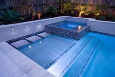 Your pool is all about relaxation. Nonetheless, the pool is really cool by itself and it sure is inviting. Swimming pool and landscape design computer. Backyard Pool Landscaping, Backyard Pool Designs, Small Backyard Pools, Swimming Pools Backyard, Swimming Pool Designs, Lap Pools, Indoor Pools, Small Pools, Pool Decks