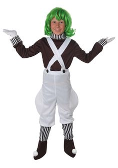 Kids Candy Creator Costume