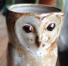 Understory pottery owl vase  Pinned by www.myowlbarn.com