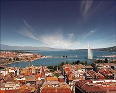 | ? |  Panoramic view of  Geneva  | by © Katarina 2353