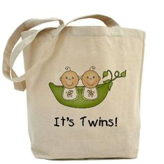 It's Twins tote bag CafePress has the best selection of custom t-shirts, personalized gifts, posters , art, mugs, and much more.{Cafepress-ZC3Fv6S0}
