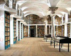 Einsiedeln Abbey library, Einsiedeln, Switzerland.