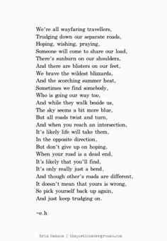 This poem is truly wonderful. I like this one very much!