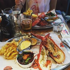 Lobster is the one . #bigeasy by rich_burgess91