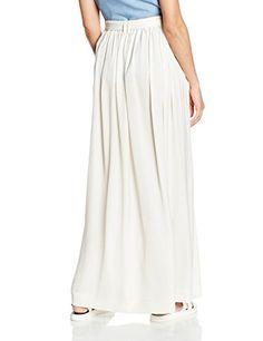 c92da2274117 Pepe Jeans - Sylvia - Jupe - Plissée - Femme - Blanc - Ivoire - 32 (Taille  fabricant  XX-Small)  Amazon.fr  Vêtements et accessoires