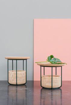 Basket tables pour Vincent Sheppard (Vincent Gilles)