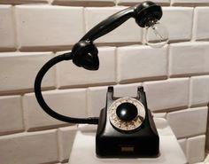 teleLAMPAfon - bLACK 62' // RefreszDizajn