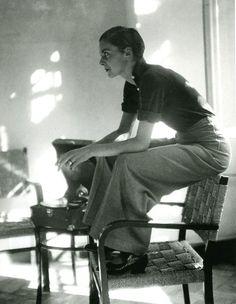 Annemarie Schwarzenbach, by Marianne Breslauer, 1930s - great menswear influence