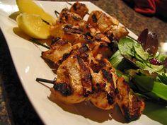 Turkish Chicken Kabobs - Aleppo Pepper