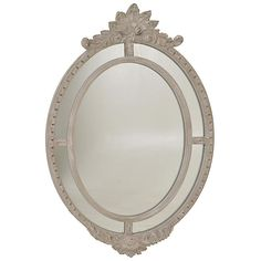 POLYRESIN WALL MIRROR IN GREY COLOR 74X5X112 - Wooden - Polyester - MIRRORS