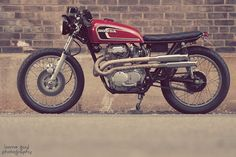 Moto-Mucci: DAILY INSPIRATION: Some Guy Honda Scrambler