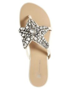 #INC International Concepts Womens Shoes, Lillith Starfish Flat Sandals