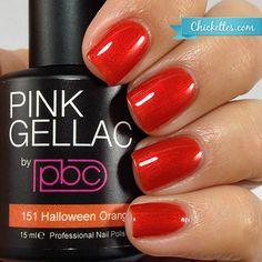 #151 Pink Gellac Halloween Orange