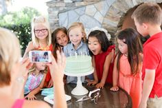 The FREE RealTimes app automatically creates movies from the photos + videos on your phone! Tips on how to take the best video at a child's birthday party via Evite and Kara's Party Ideas | KarasPartyIdeas.com #EviteParty #MyRealTimes