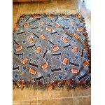 Football Fleece Blanket Double sided  Quilt On Odzbodz.com   Bellyboo's shop