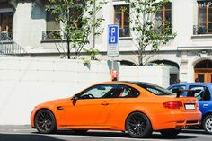 2011 BMW M3 GTS (E92). 300 lbs. lighter than a standard M3. 0-62 in 3.6 sec. Only 250 produced. (Click on photo for larger image.) Photo found here: http://www.flickr.com/photos/lambo8/5695101745/in/pool-1470800@N20/