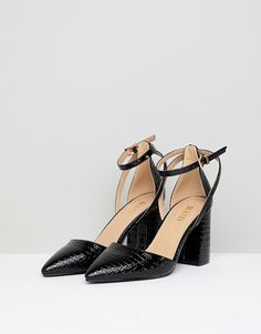 2cdd84b34db3 Black wide fit tassel patent shoes - Shoes - Shoes   Boots - women ...