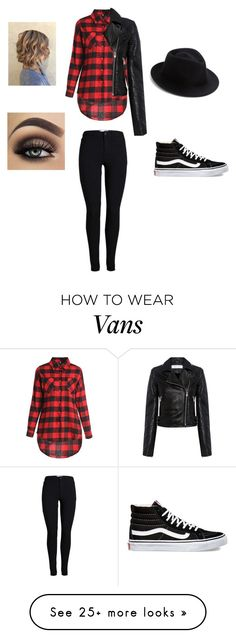 """""""Fall Out Boy look"""" by fantastic-beasts-fan on Polyvore featuring IRO, Vans and Eugenia Kim"""