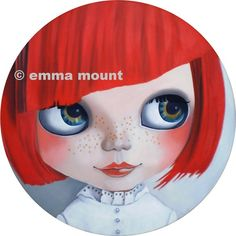 Blythe Doll Print limited edition 18/100  Penny Lane by EmmaMount